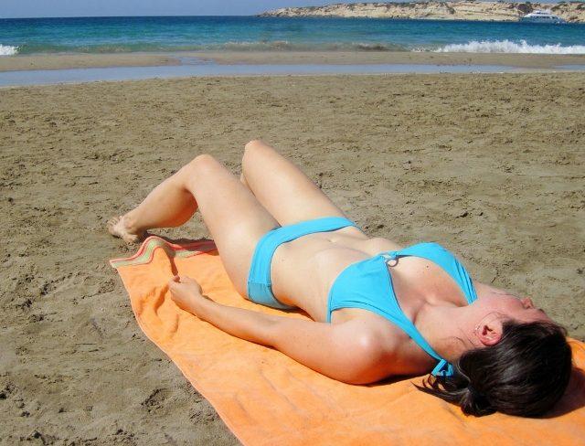 Photo credit: Girl Sunbathing by Petr Kratochvil