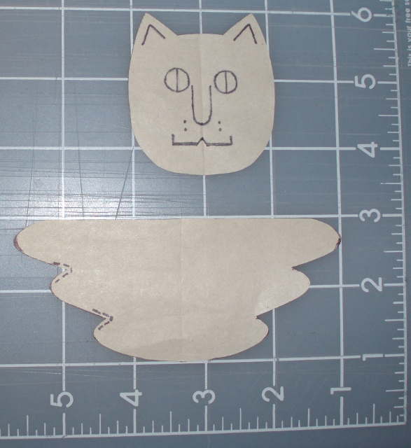 Angel kitty pattern