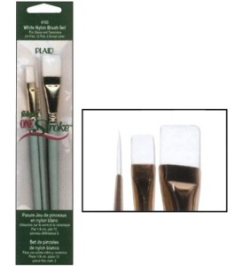 one stroke glass painting brushes