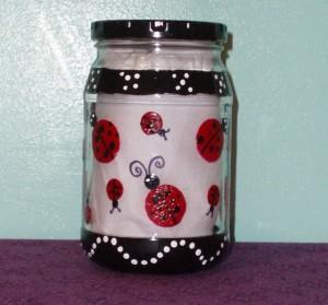 ladybug jar