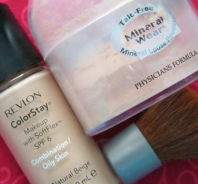 revlon colorstay and physicians formula mineral wear