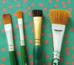 one stroke paint brushes