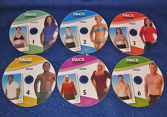 Pace Express workout DVDs