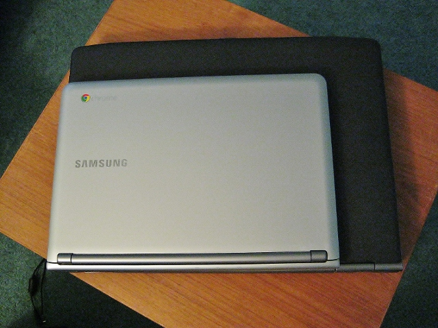 samsung chromebook compared to my old laptop