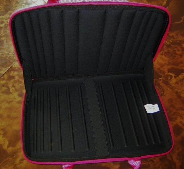 chromebook case is padded inside