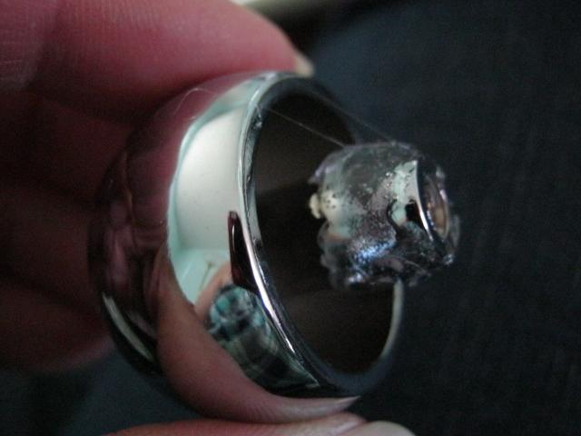 glue cabinet knob finial
