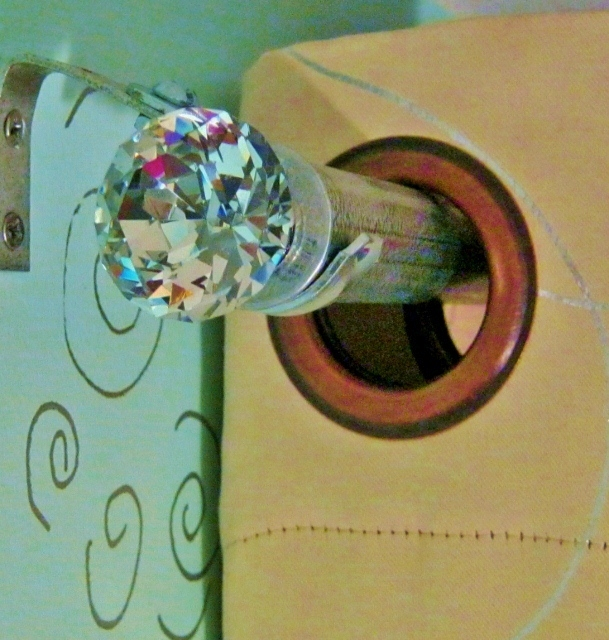 upscale curtain rods from cheap hardware store materials