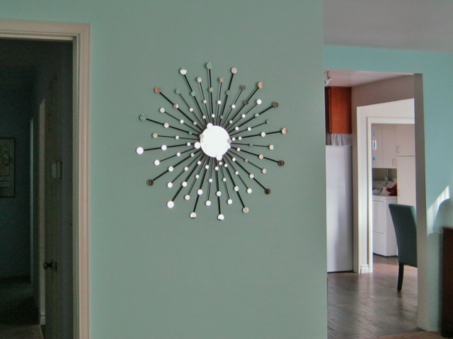 funky diy starburst mirror