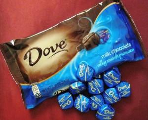 Dove Chocolate Promises