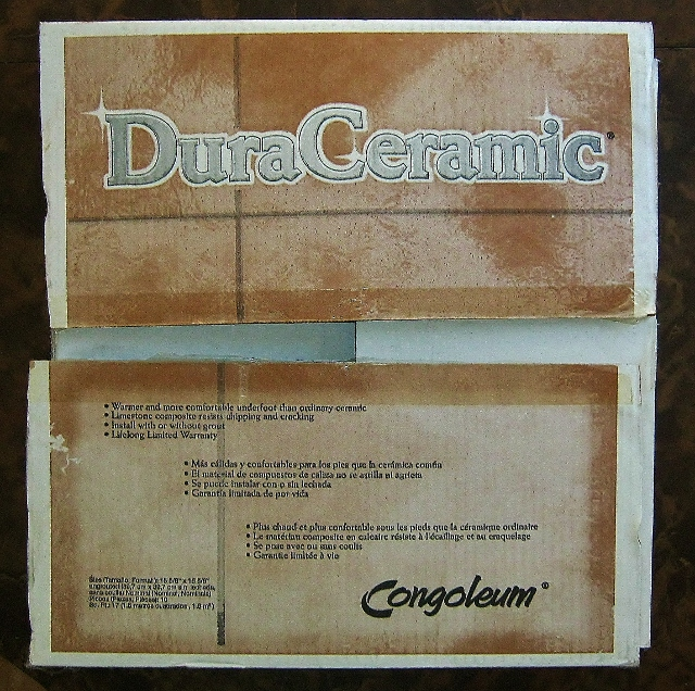 box of duraceramic tile