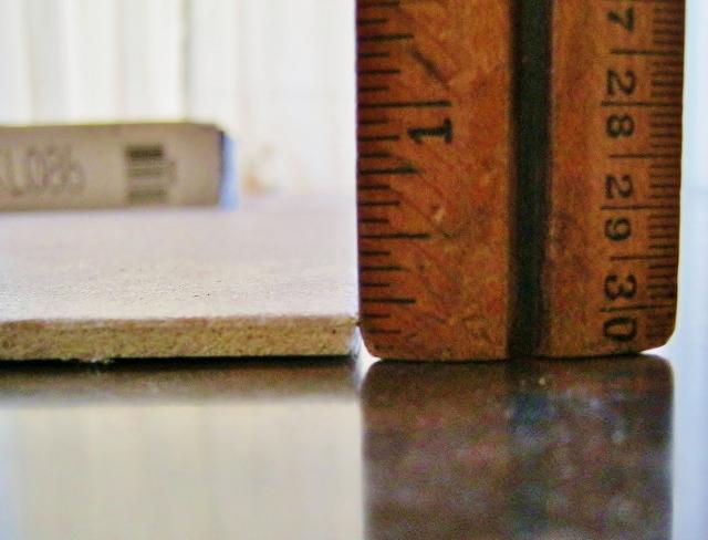 measuring duraceramic tile