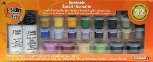 glass paint assortment set
