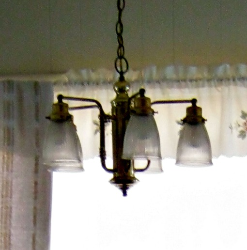 old kitchen chandelier