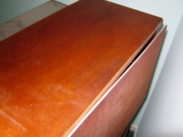 loose back of desk