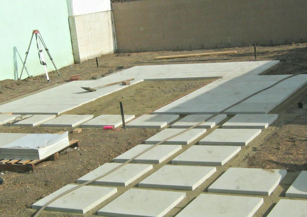 """24 24 Concrete Pavers Concrete Pavers 2424 Offset Patio: How To Install 24"""" Concrete Pavers"""