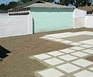 Primer applied to cinderblock walls (not garage)