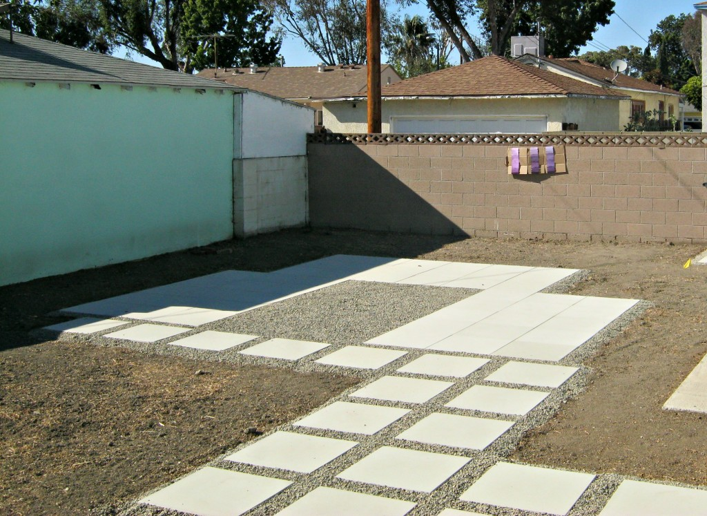Before painting concrete walls