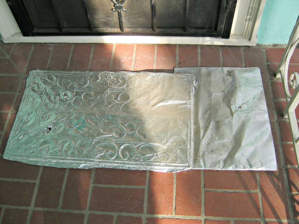 aluminum foil anti cat mat