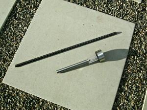 rebar and solar light