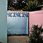 fabric privacy screen