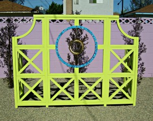 blinged out trellis