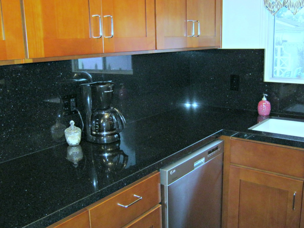 galley kitchen upgrade granite