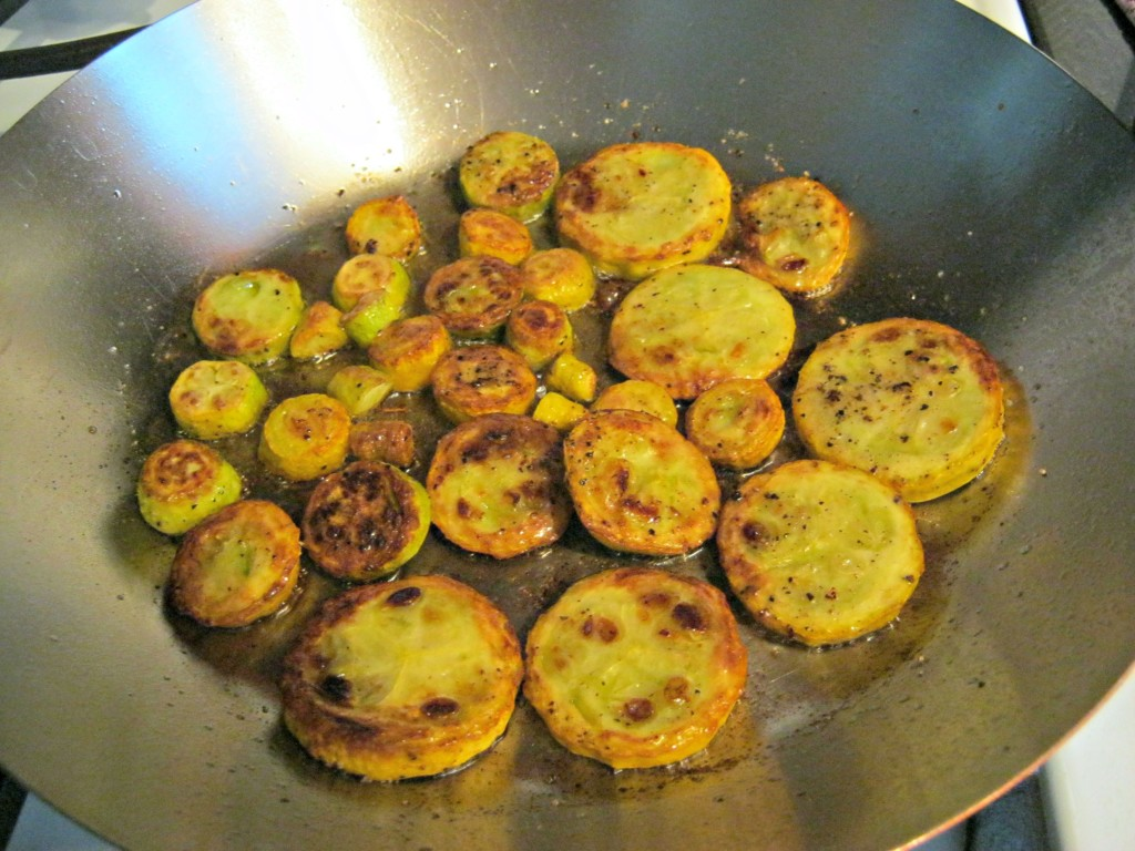Sauteed yellow squash