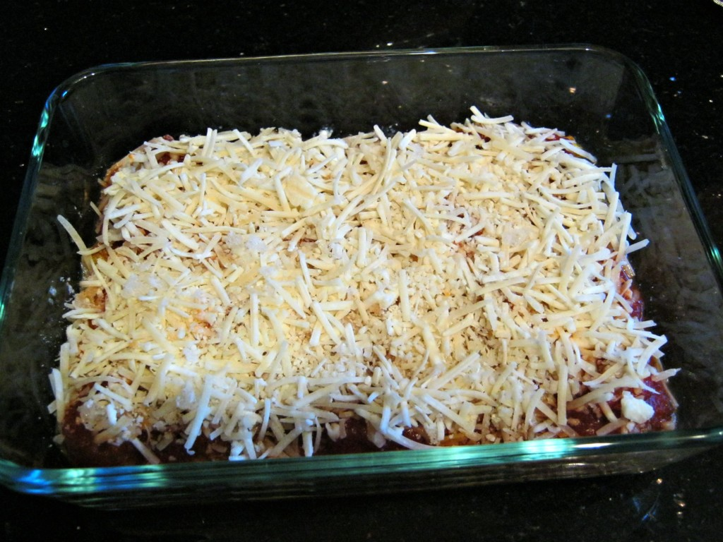 Third layer: cheese