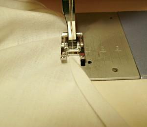 Sew armhole