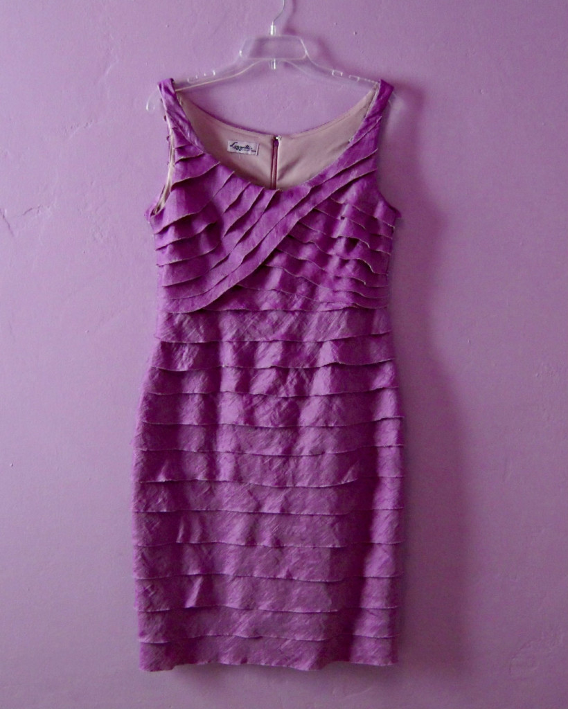 Dress makeover: after dyeing