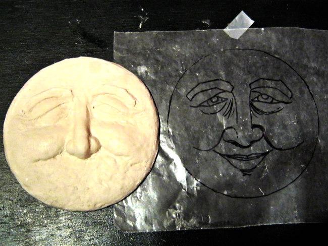 sun sculpture in progress