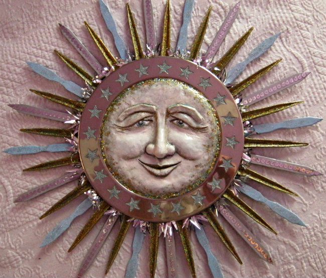 The Morning Star sun sculpture