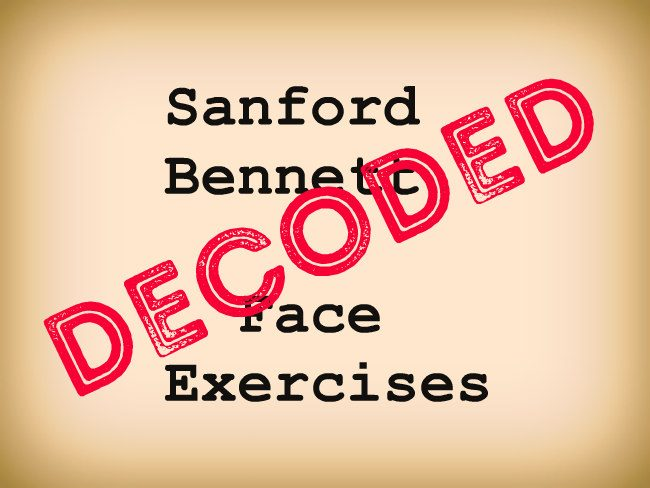 sanford bennett face exercises