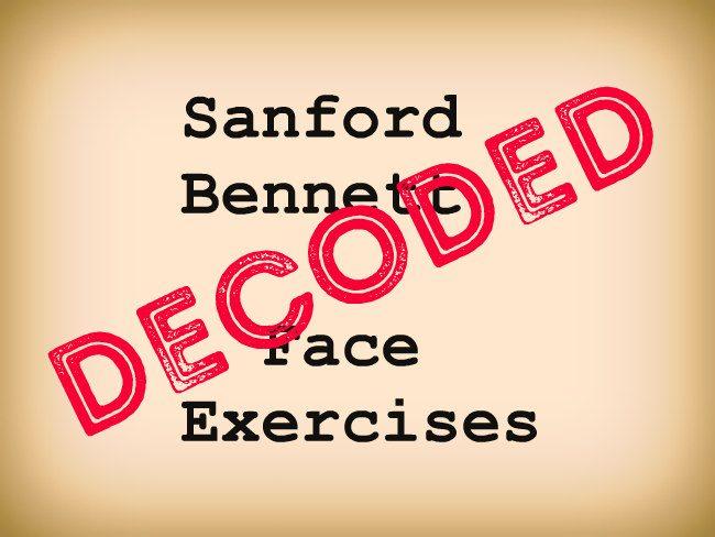 sanford bennett face exercises