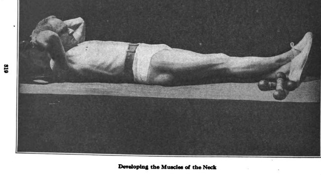 Sanford Bennett neck exercise