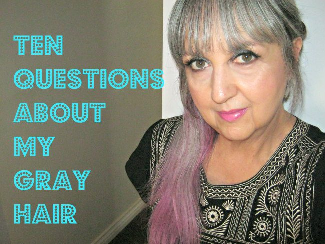 gray hair questions answered