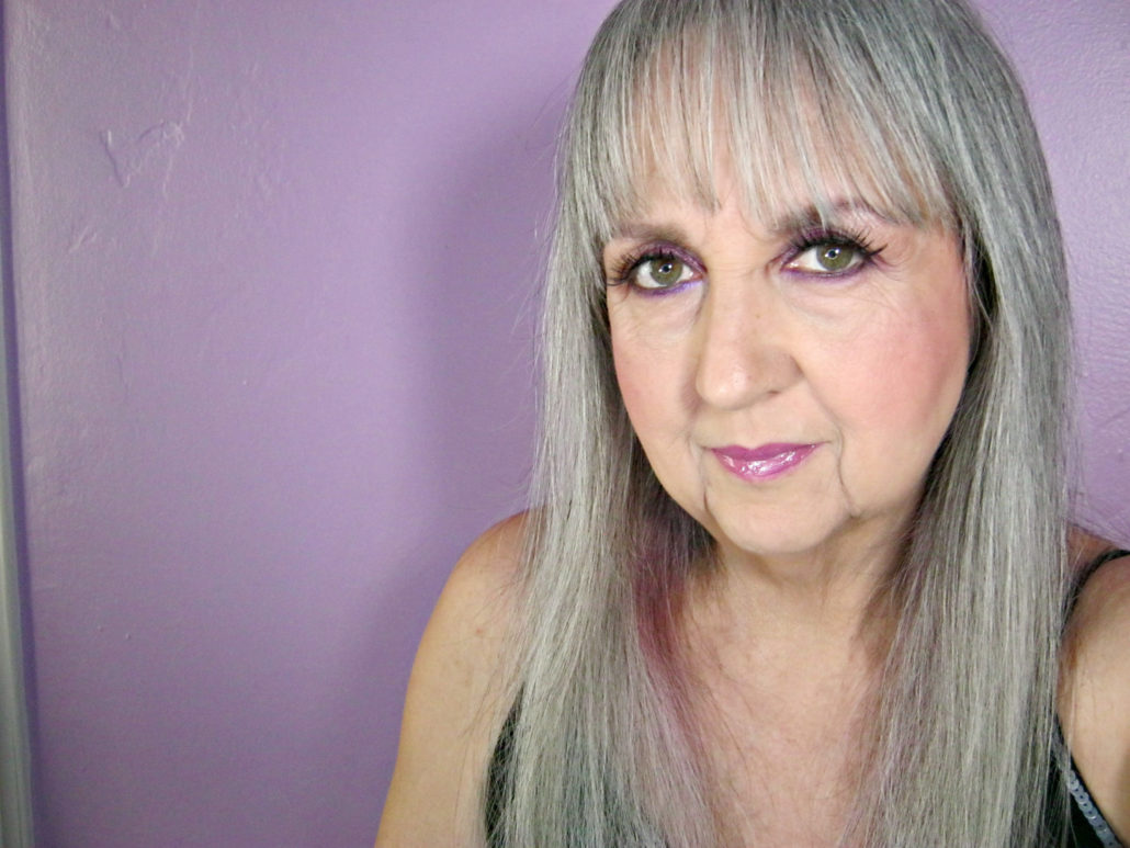 natural silver hair