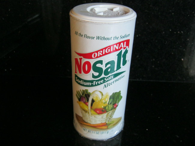 NoSalt as a potassium supplement
