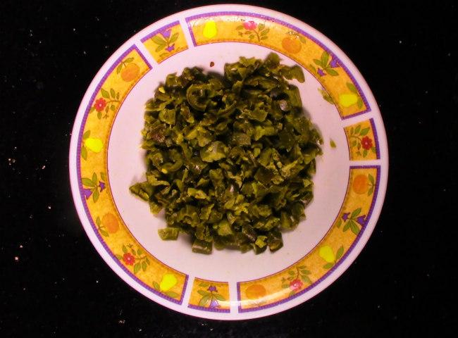 chopped sauteed jalapenos
